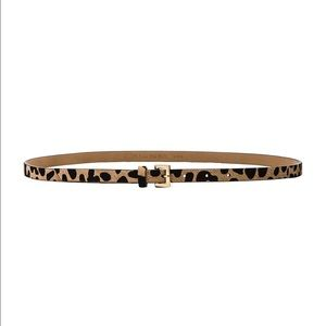 B-Low the Belt Accessories - B-Low the Belt Leopard Calfskin Belt