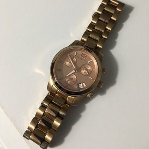 Accessories - Michael Kors Rose-gold Watch