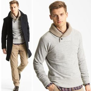 Billy Reid Other - NWOT // Billy Reid Shawl Collar Sweatshirt Sweater