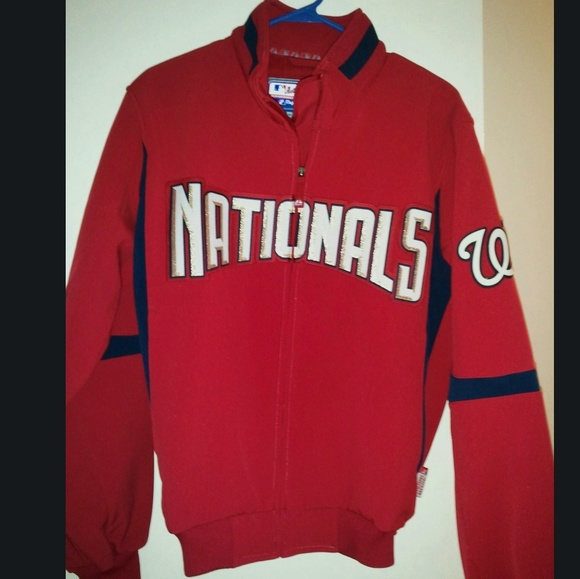 Washington Nationals Therma Base Jacket Nwt