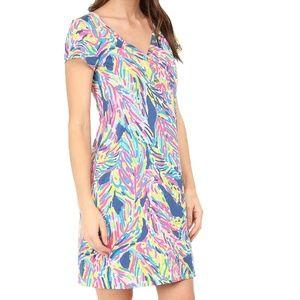 Lilly Pulitzer - Palmira Dress Indigo Palm Reader