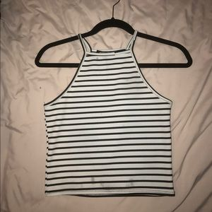 Absolute Angel Tops - Striped crop top!