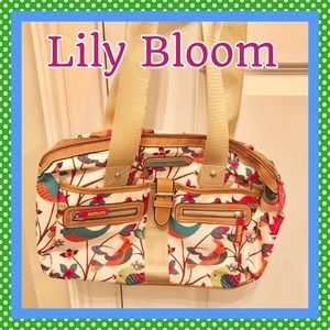 Lily Bloom Purse-  made from recycled coke bottles