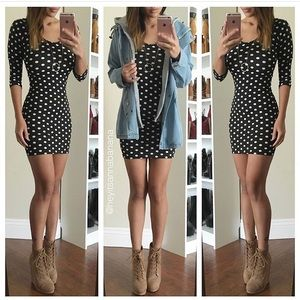 Dresses & Skirts - Polka mini dress