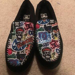 DC Shoes - Rare DC villains slip ons