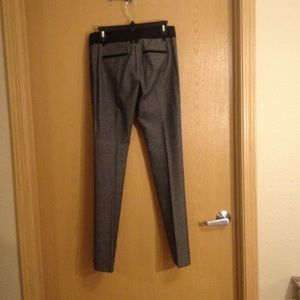 Express Pants - Size 2L Express Columnist Grey & Black Work Pants