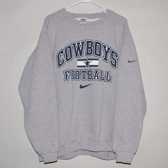 dallas cowboys crewneck sweatshirt