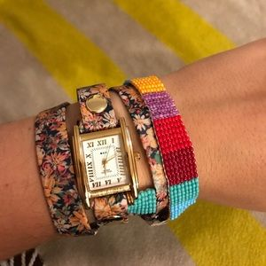 ⌚️ NWOT La Mer Anthropologie Watch