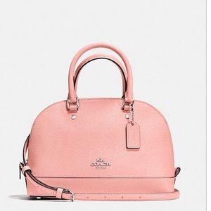 Coach Handbags - Coach Mini Sierra Satchel Crossgrain Leather  New!
