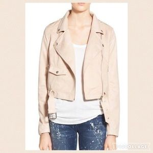 Missguided Jackets & Blazers - New Missguided crop faux suede moto jacket