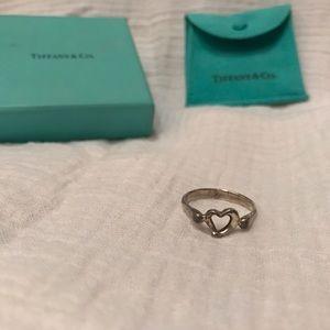 Elsa Peretti Open Heart ring from Tiffany's