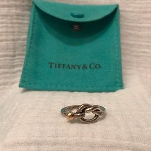Tiffany & Co. retired love knot ring
