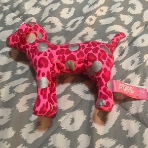 Pink Leopard VS dog