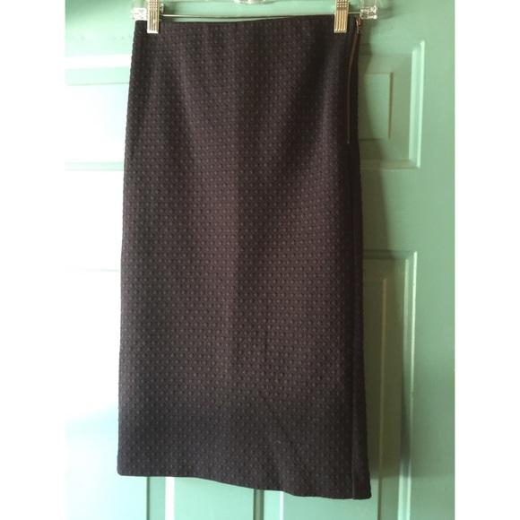 72 loft dresses skirts loft navy textured midi