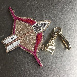 Diane von Furstenberg Accessories - DVF Zodiac Charm & Keyring, Sagittarius, NWT!