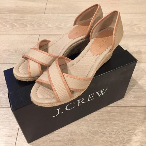 756b4834ba J Crew Shoes | Maribeth Espadrilles Size 5 Flax Color | Poshmark