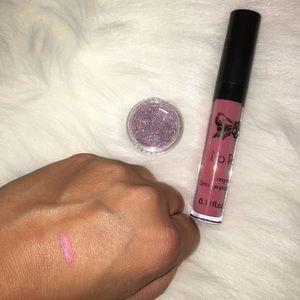 tattoo junkie Makeup - Tattoo Junkie lip paint in Bubble Gum