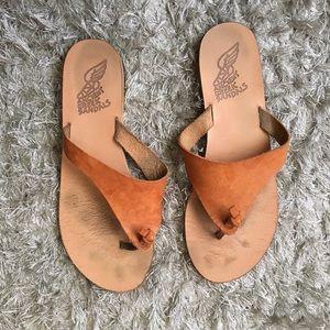 Ancient Greek Sandals Shoes - Ancient Greek Sandals Barney's Tan size 40 9.5