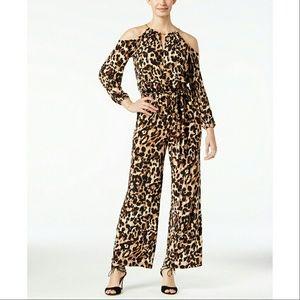 Thalia Sodi Pants - New! Thalia Sodi Animal Print Jumpsuit Hot!!!