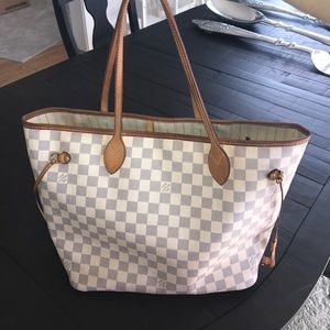 Louis Vuitton Handbags - Louis Vuitton Damier Azur Neverfull