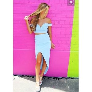 L'ATISTE Dresses & Skirts - NWT! L'ATISTE Crop Set