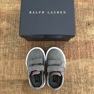 Polo by Ralph Lauren Other - Grey Ralph Lauren Toddler Deck/Boat Shoes