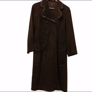 Loewe Jackets & Blazers - Vintage Loewe Suede Coat