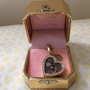 Juicy Couture Heart ❤️ Box Chocolate 🍫 Charm