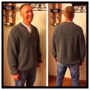 Eddie Bauer Other - Eddie Bauer Large Tall men's v-neck sweater