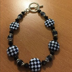 New Handmade Check Bracelet