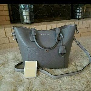 17/21 Exclusive Denim Handbags - Michael Kors Greenwich