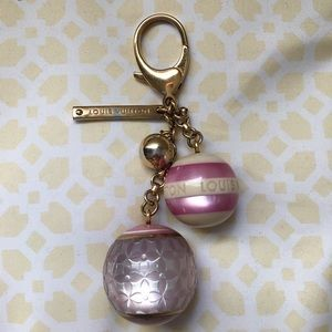 Authentic Louis Vuitton Mini Lin Key Charm