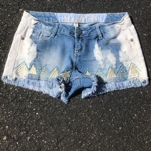 Vanilla Star Pants - Jean shorts❤️❤