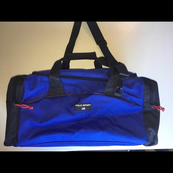 Vintage Polo Sport Duffle bag 2103ea543b5fc