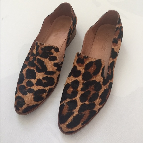 ae89a141bb2 Madewell Orson Leopard Loafers-NEVER WORN
