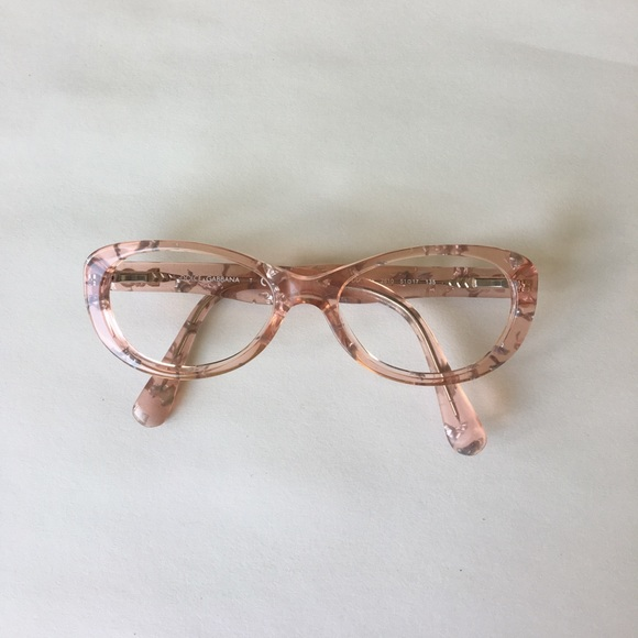 3fed07f830d Dolce   Gabbana pink and silver eye glasses. M 59318f4b4e8d17fd5f013b92.  Other Accessories ...