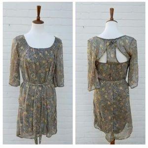 Dress T Vintage Paisley Mini Dress