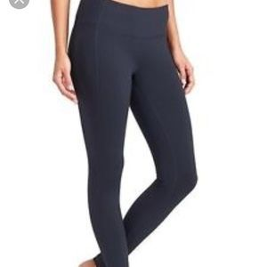 Athleta Pants - Mid rise navy Blue revelation full length legging