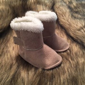 Other - Tan Winter Boots - baby size 2