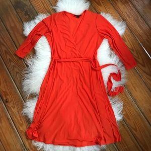 WORN ONCE// Tiana B. Wrap Dress