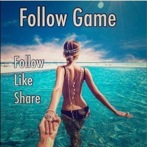 Follow, like, share!
