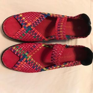 bernie mev. Shoes - Bernie Mev weaved sandals so comfy never worn 39-8