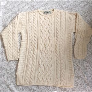 Aran Crafts Other - Men's  extra fine merino wool/cashmere sweater