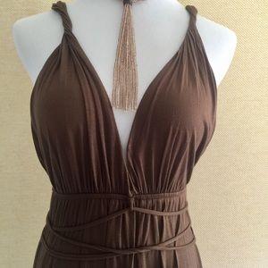 Maje Dresses & Skirts - 🎉SALE🎉Maje sexy brown sundress size small