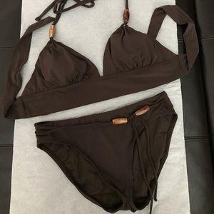 Other - Robin Piccone brown bikini