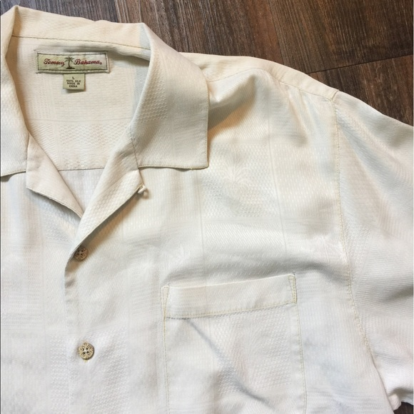 69 Off Tommy Bahama Other Tommy Bahama Ivory Silk