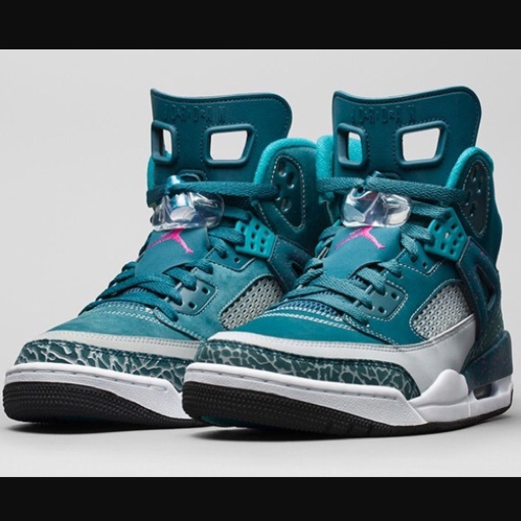 watch 5e4ce 6bf93 Air Jordan Spizike Basketball Shoes Space Blue