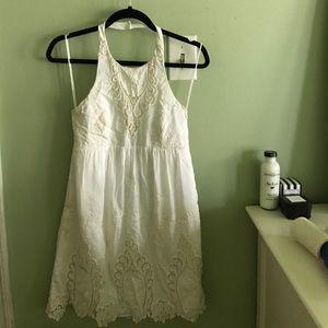 Free People Dresses - Very Cute Crochet Halter Dress