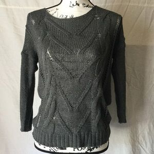 Lightweight Old Navy charcoal sweater
