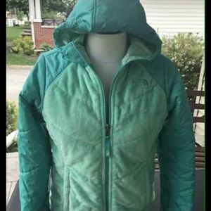Girls Reversable North Face Coat #697